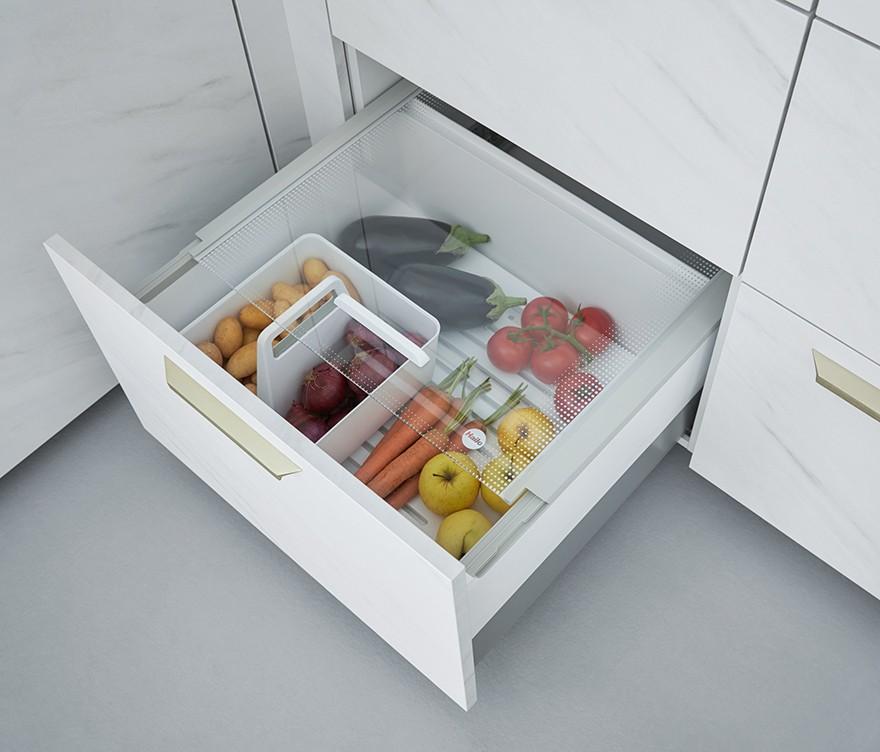 Kitchen Pantry Box for Vegetable Storage