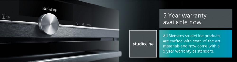 Siemens studioLine  - 5 year warranty available now