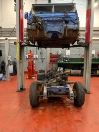 1976 Series 3 Land Rover progress - keep checking back for updates!