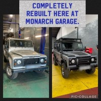 Land Rover Defender 110 2002 Complete Rebuild completed May 2021