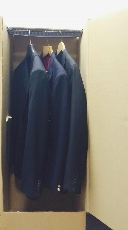 "Wardrobe Box (50""x21.5""x19"")"