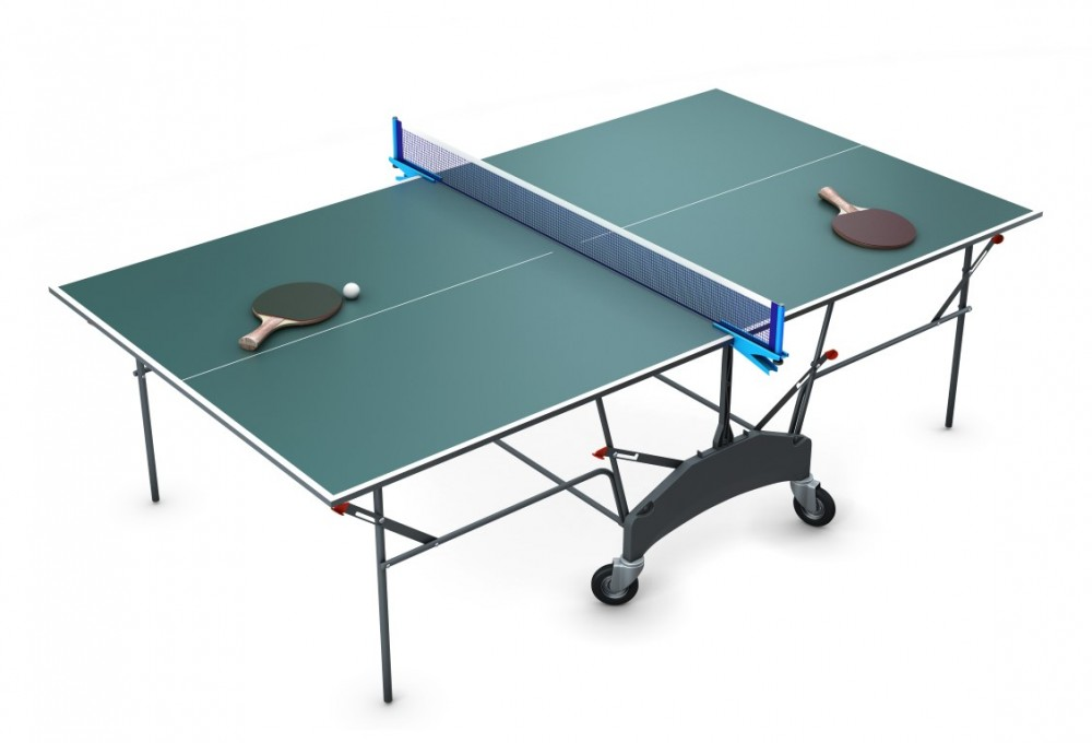 Table Tennis Table (Folded)