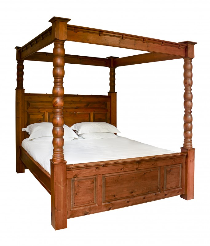 4 Post Double Bed (Dismantled)
