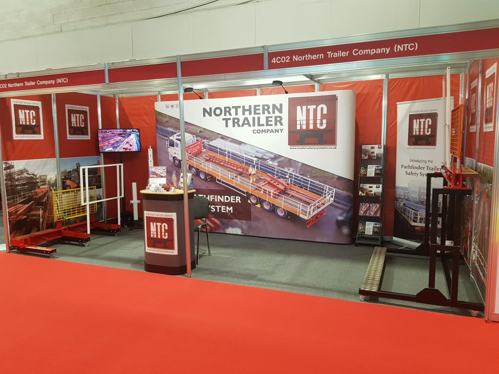 NTC ready to go at the CV Show 2018