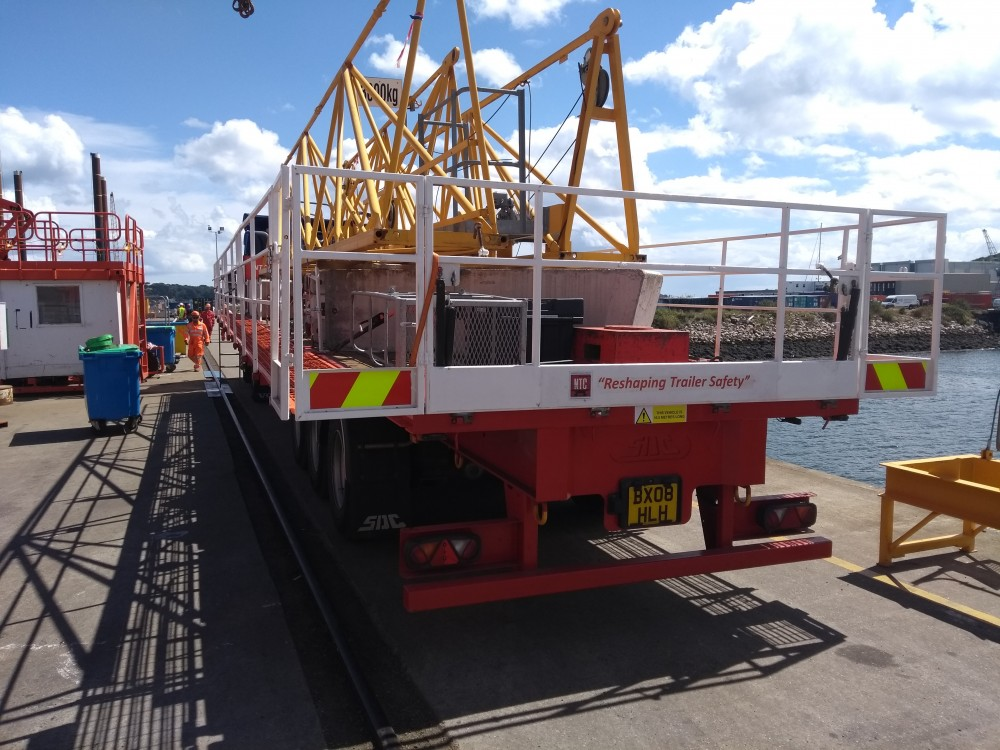 Falmouth Docks in Cornwall - Demonstration