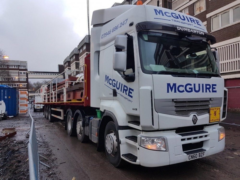 Great feedback from McGuire's Transport after using our NTC Flatbed Safety System today.